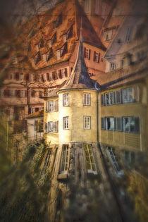Tübinger Häuser by Gabi Kaula