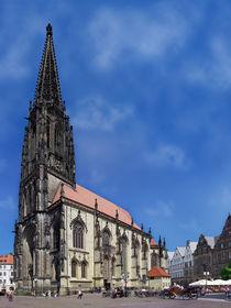 Münster (Westf.) - Lambertikirche bei Sonnenschein by Münster Foto