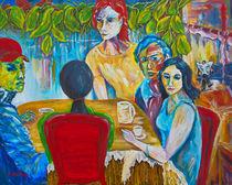 Im Café von Eberhard Schmidt-Dranske