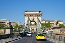 Kettenbrücke Budapest Ungarn von Matthias Hauser
