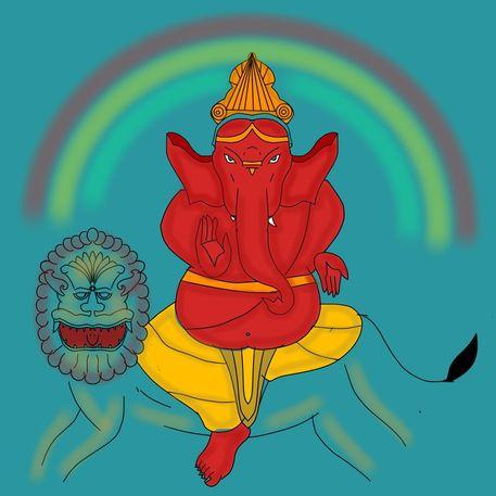 Herambha-ganapati