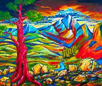 'Der rote Baum' by Eberhard Schmidt-Dranske