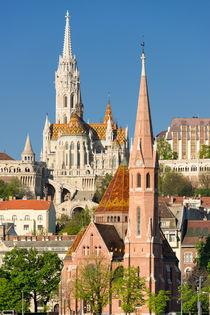 Kirchen in Budapest Ungarn von Matthias Hauser