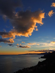 'tramonto finalese(riviera ligure-Italy)' by Gabri Penna