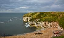 North Landing auf Flamborough Head by gscheffbuch