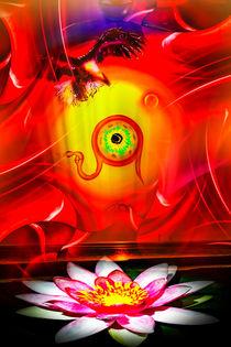 Blühende Fantasie 3 von Walter Zettl
