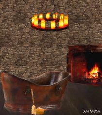Castle Bathing von Amanda Jones