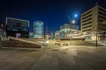hafencity@night IX by Manfred Hartmann