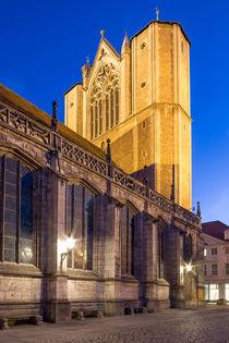 Braunschweiger Dom von Christine Büchler