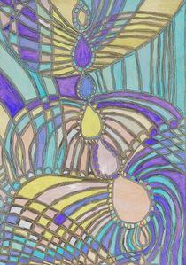 Flug der Lerche / Flying lark von Claudia Juliette Dittrich