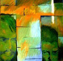 Portrait Baader und Raspe von Matthias Kronz