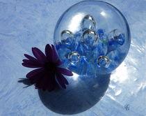 blaue Kugel... by Thea Ulrich