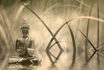 Buddha Sepia  von Violetta Honkisz