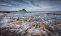 Worm's head on the Gower peninsular by Leighton Collins