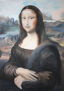 Meine Mona Lisa by Bodo Lopschus