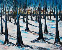 Winter im Park by Eberhard Schmidt-Dranske