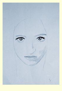 Portrait of a Lady - Azure by chrisphoto