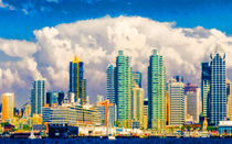 Skyline of San Diego by lanjee chee