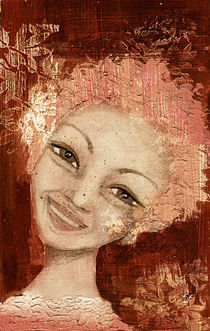 Laughter in her eyes by Dominique Gwerder