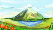 Der einsame Berg von fuchsmithut