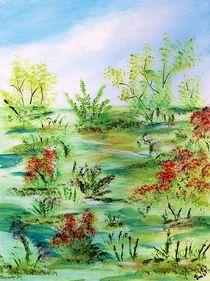 Colorful landscape by Vera Markgraf