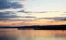 Abendstimmung am See by Evienna Aigner