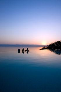 Sonnenuntergang by Helge Reinke