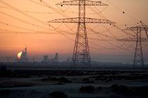 Skyline Dubai von Helge Reinke