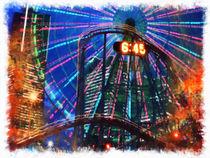Wonder Wheel at the Coney Island amusement park von lanjee chee