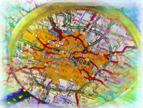 London under magnifier by lanjee chee