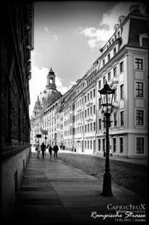 Rampische Strasse | Dresden  von Denise Kühne