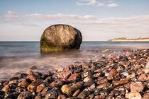 Findling an der Küste der Ostsee von Rico Ködder
