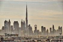 Skyline Abu Dhabi by Janko Sebök