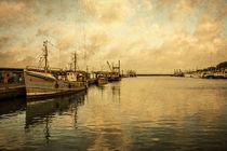 Newlyn Trawlers  by Rob Hawkins