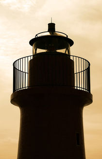 the top of the lighthouse von Peter Bergmann