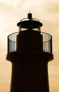 Leuchtturm-sepia