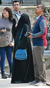 """""""tourist guide"""" in Istanbul... von loewenherz-artwork"""