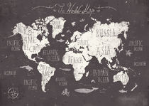 The World Map by Mike Koubou