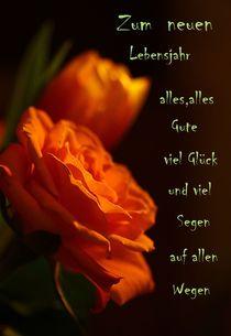 Zum neuen Lebensjahr.... by Gertrud  Aulbach