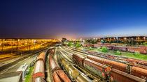 Maschen Rangierbahnhof by photoart-hartmann