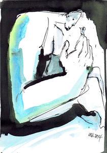 Der Mann und der Vogel von ornatum045