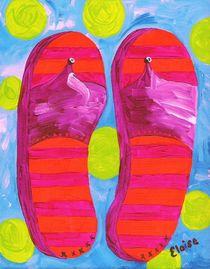 Summer Flip Flops by eloiseart