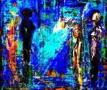 Blue Night by Eberhard Schmidt-Dranske