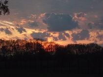 Sonnenuntergang by Peggy Gennrich