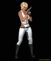 Science Fiction Girl - Version 2 by Patrick Wandkowski