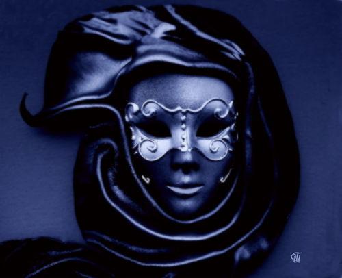 Maske-in-blau
