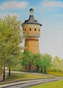 Wasserturm Nord in Halle von Barbara Kaiser