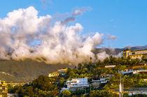 Wolken über dem Taorotal by Wilhelm Menze
