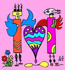 Rainbowangels. Rosa. by Hans-Peter Scherbaum