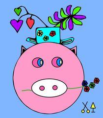 Glücksschweinchen. von Hans-Peter Scherbaum